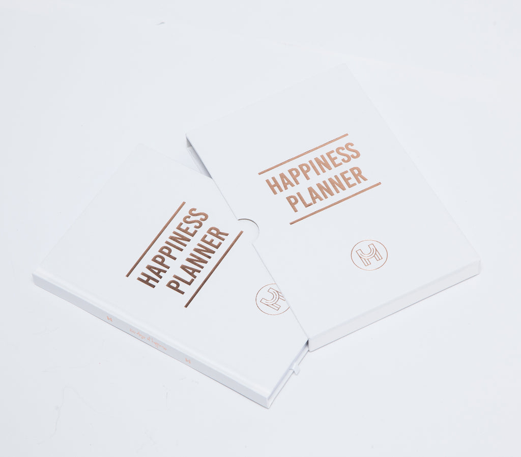The 100-Day Planner | White & Gold - The Happiness Planner®