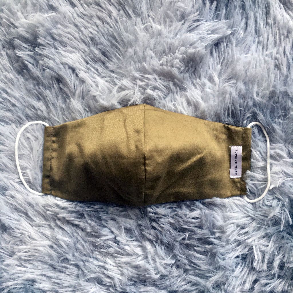 Hipster Khaki Mask - The Happiness Planner®