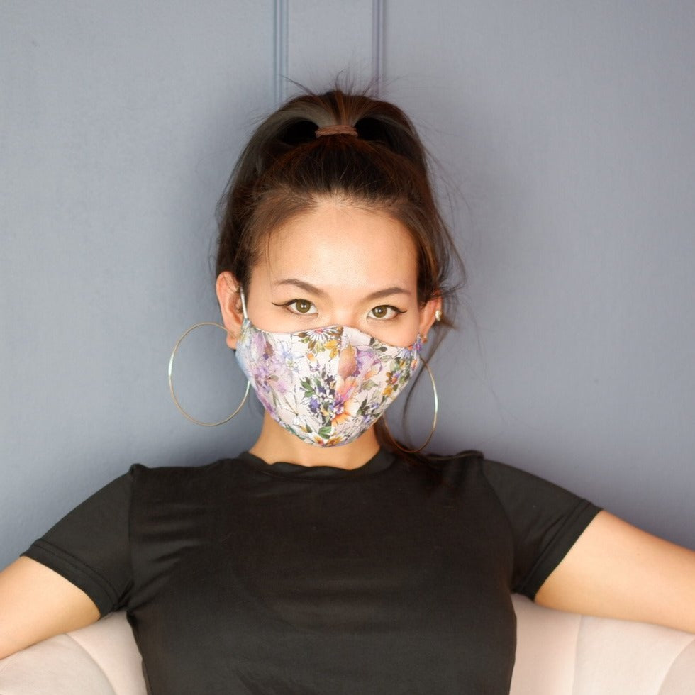 Spring Blossom Mask | Floral - The Happiness Planner®