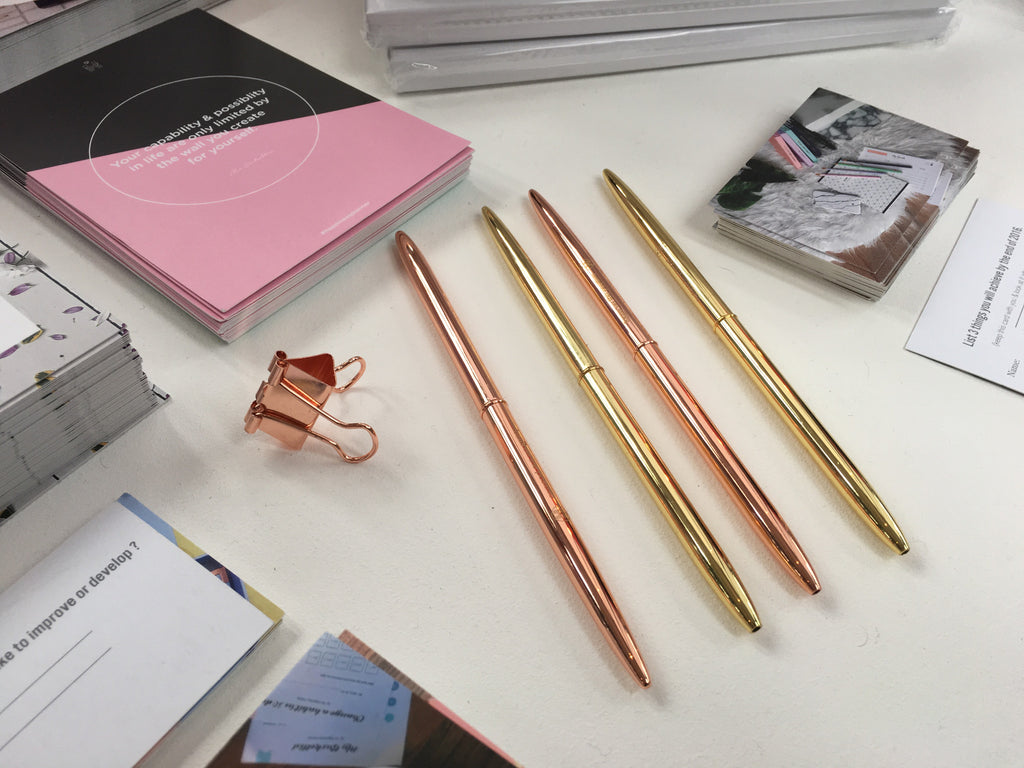 Our Gold & Rose Gold Pen Set - The Happiness Planner®
