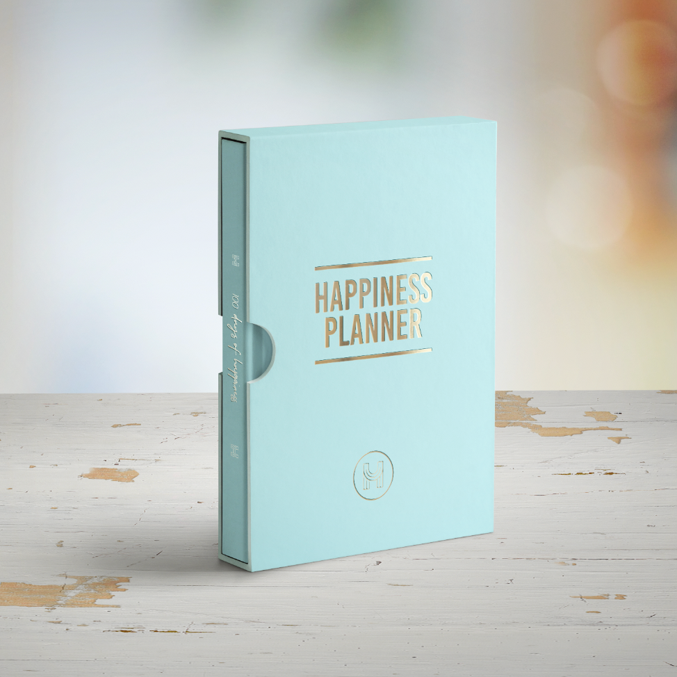 The 100-Day Planner | Mint & Gold