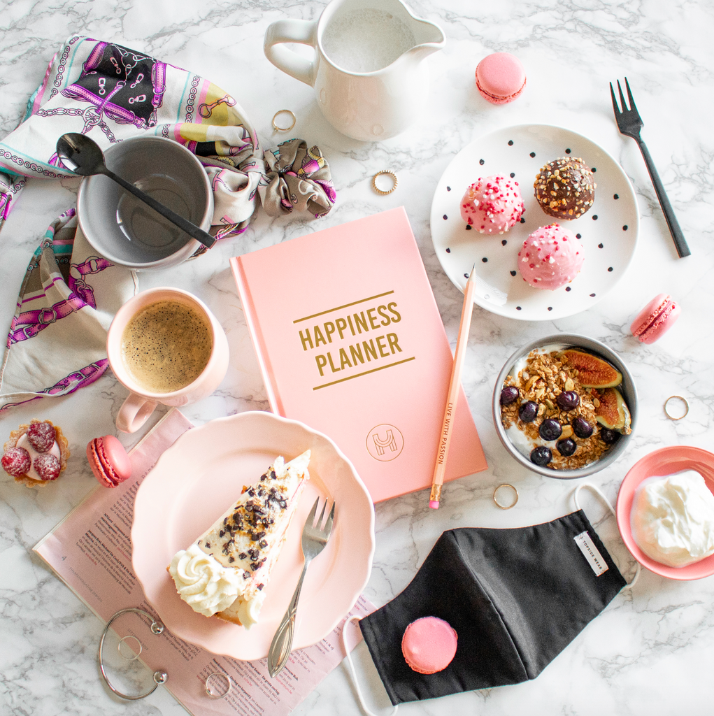 The 100-Day Planner | Pink & Gold