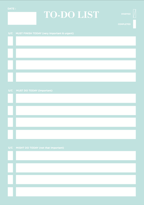 To-Do List Notepad - The Happiness Planner®
