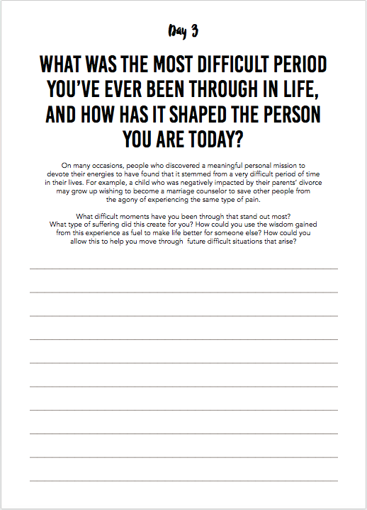 #Purpose Box - The Happiness Planner®