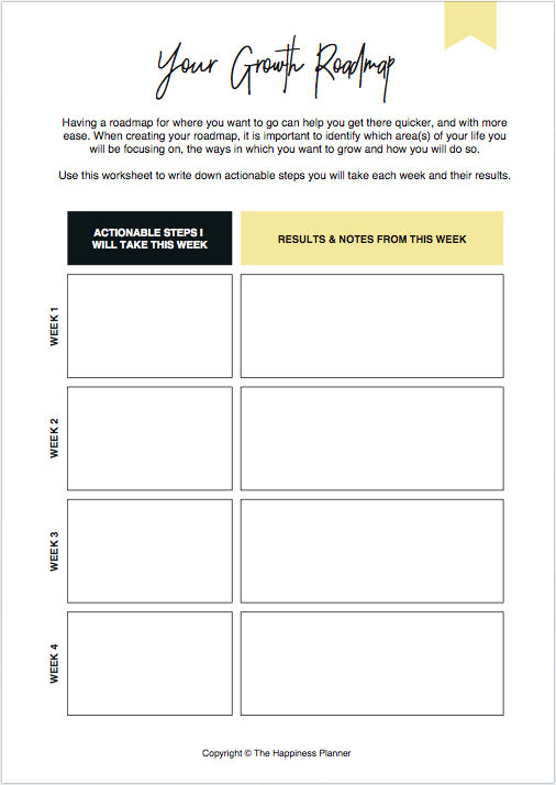 #GrowthMindset Box - The Happiness Planner®