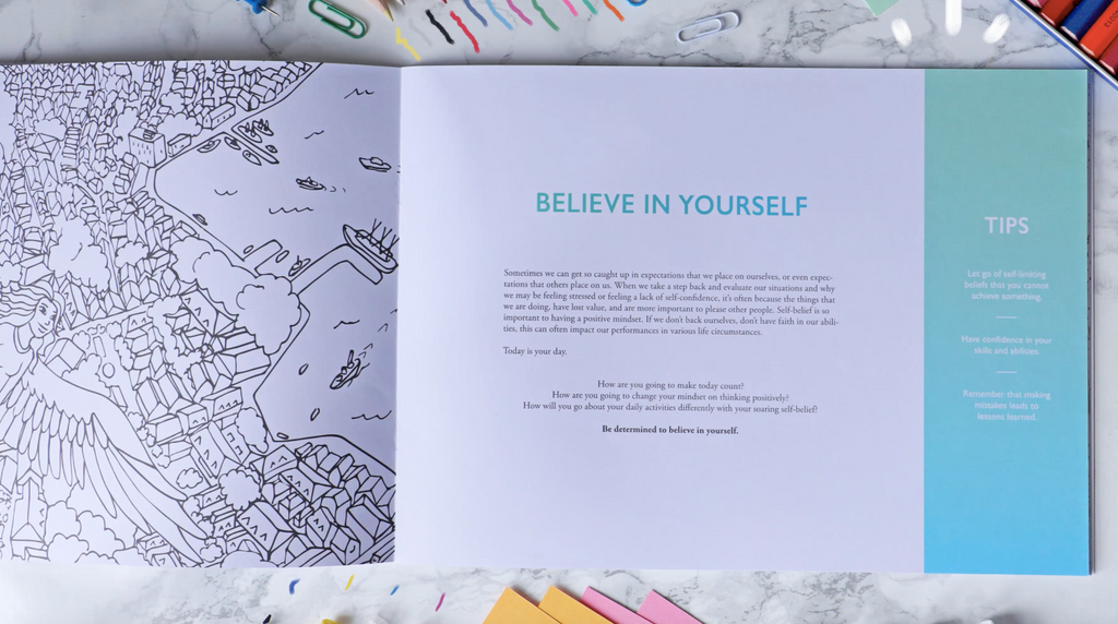 Coloring Book: The Adventures of Living (2for1) - The Happiness Planner®