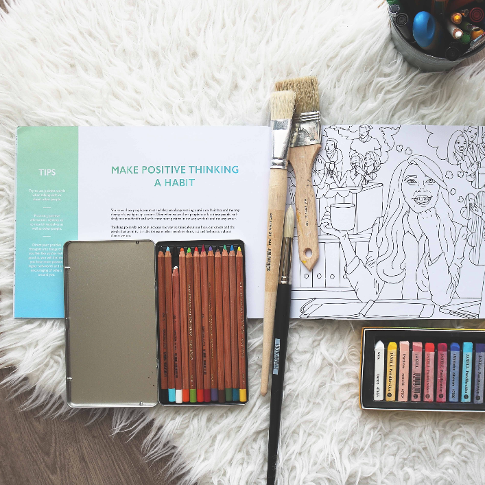 Coloring Book: The Adventures of Living - The Happiness Planner®