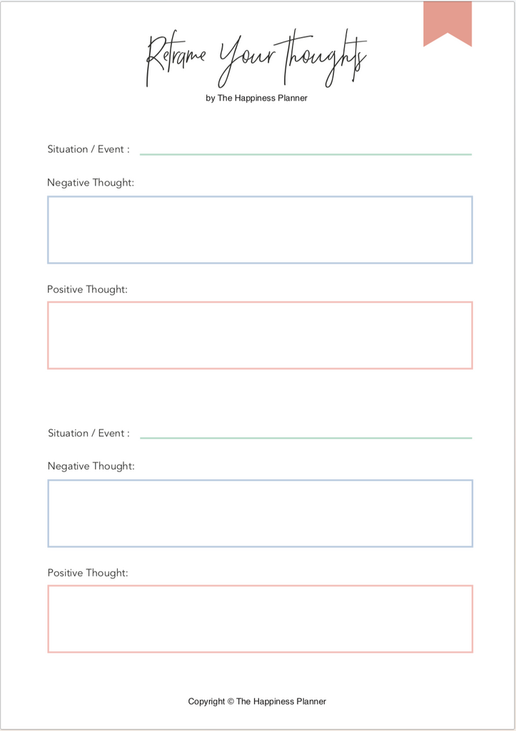 Printables: #Perspective - The Happiness Planner®