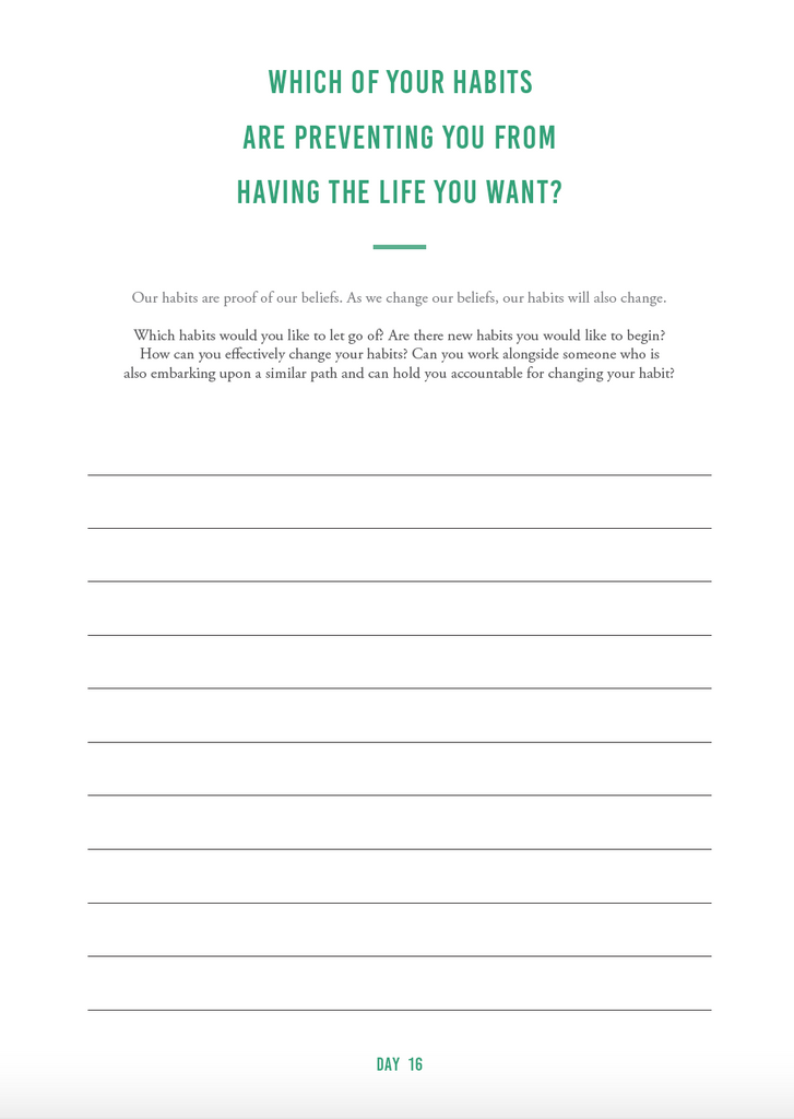 Law of Attraction Journal (digital) - The Happiness Planner®