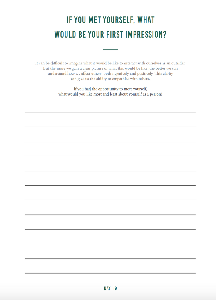Self-Awareness Journal (digital) - The Happiness Planner®