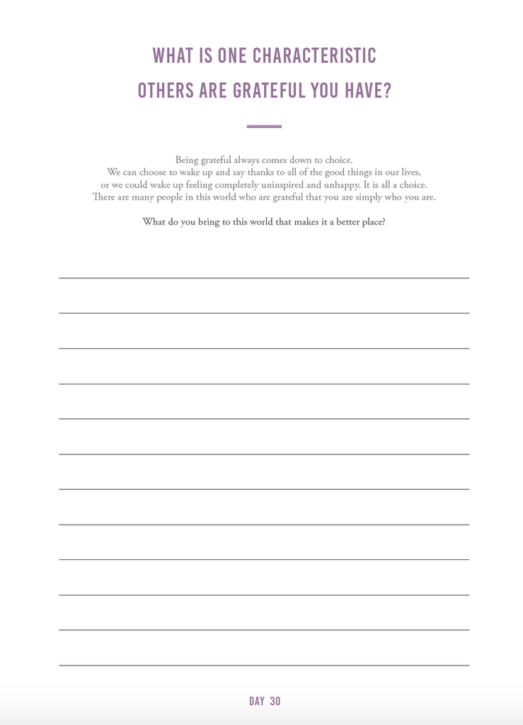 Gratitude Journal (digital) - The Happiness Planner®