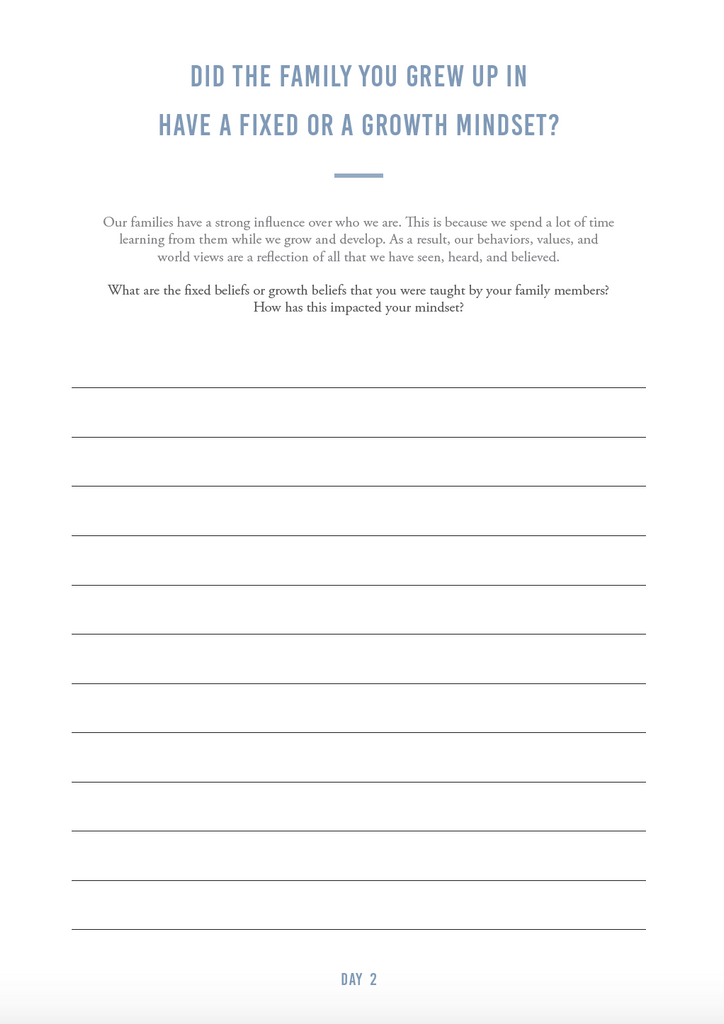 Growth Mindset Journal (digital) - The Happiness Planner®