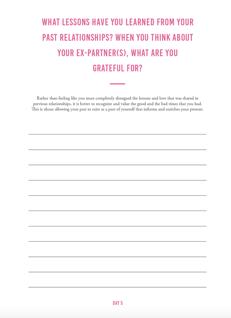 Explore Your Inner World | Love & Relationship Journal - The Happiness Planner®