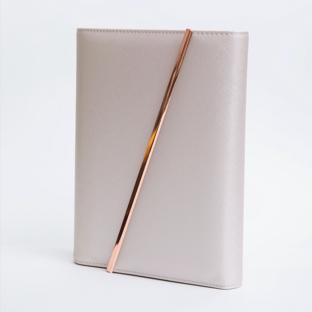 Leather Binder | Rose Gold | 2020 - The Happiness Planner®