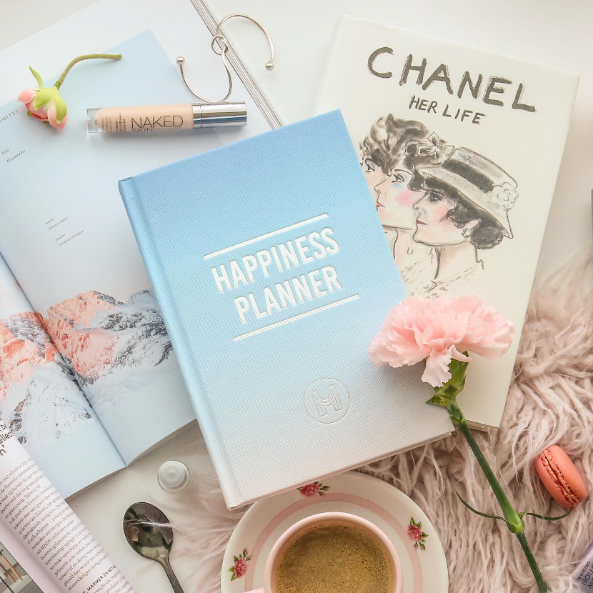 The 100-Day Planner | Blue & White - The Happiness Planner®