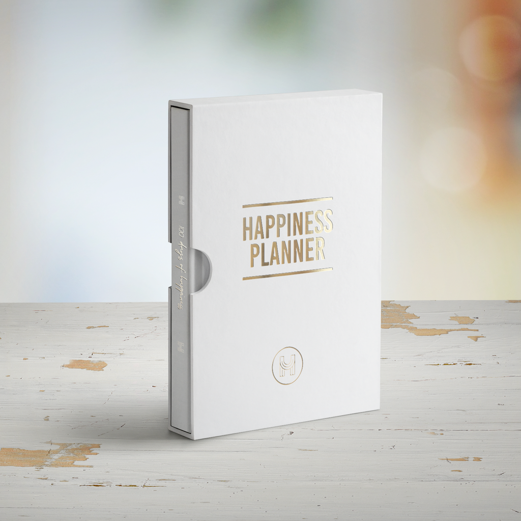 The 100-Day Planner | White & Gold