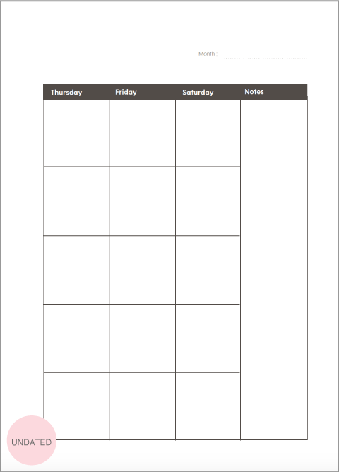 52-Week Inserts - The Happiness Planner®