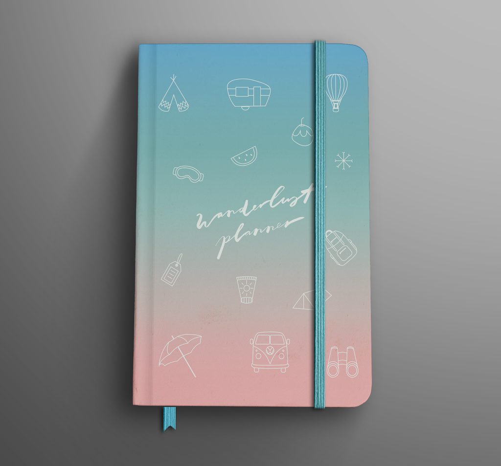The Wanderlust Planner - The Happiness Planner®