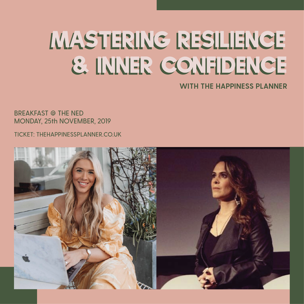Mastering Resilience & Inner Confidence | Inspiring Breakfast - The Happiness Planner®