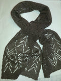 Qiviut Lace or Plain Knit Scarf