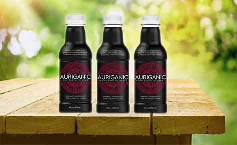 Auri-Hawthorn Juice Auricularia Auricula blended with juicy Hawthorn berries, mango, apple, and lemon