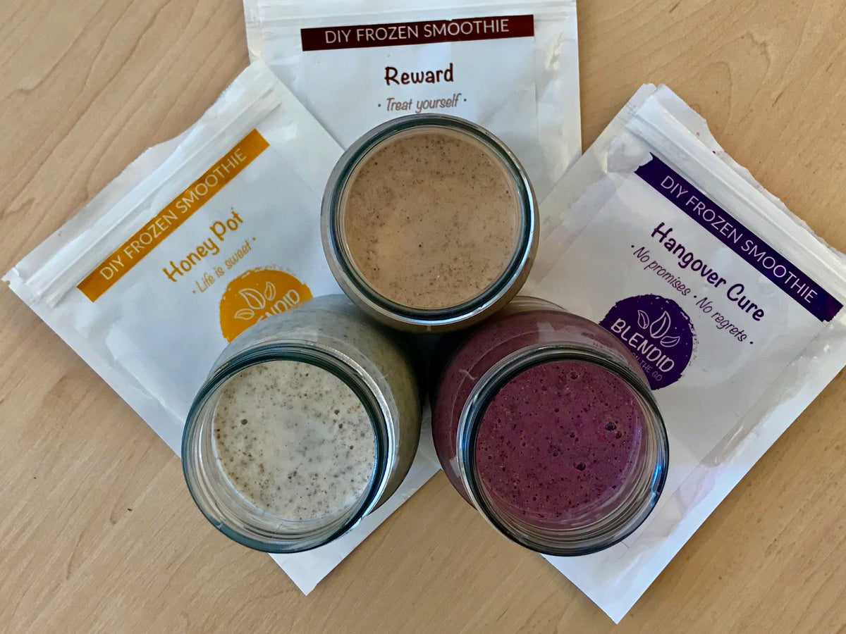 Blendid makes DIY smoothies easy & healthy!