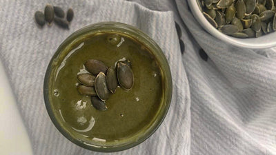 Pumpkin Seed Butter recipe high in plantbased protein