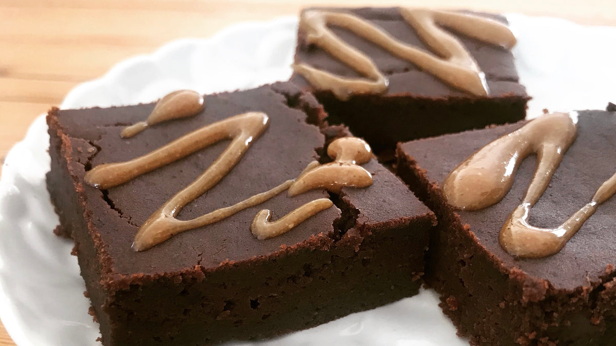 Gluten-Free Black Bean Brownies lunch box snack recipe