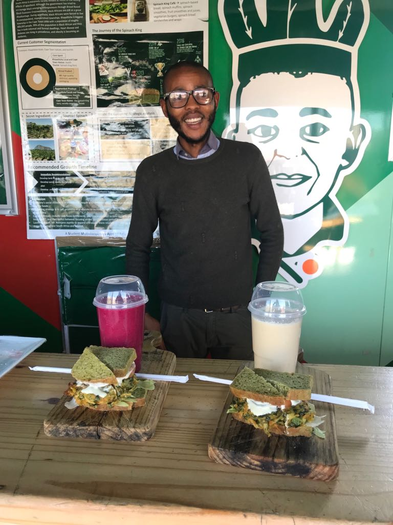 The Spinach King transforms a community with healthy food