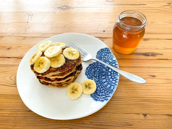 banana-oats-flapjacks-honey