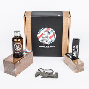 Beards & Tattoos Gift Box - Rӕdical Raedical
