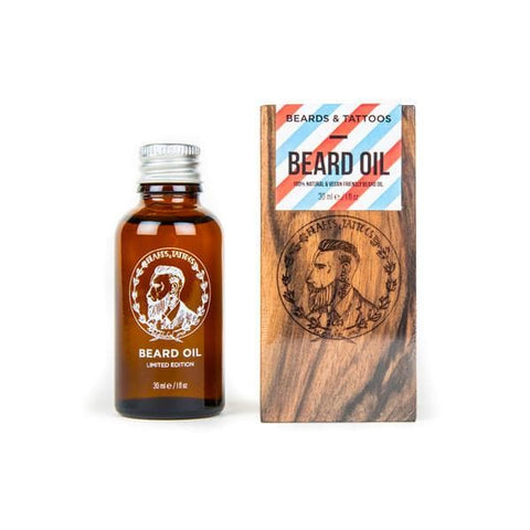 Beards & Tattoos beard oil