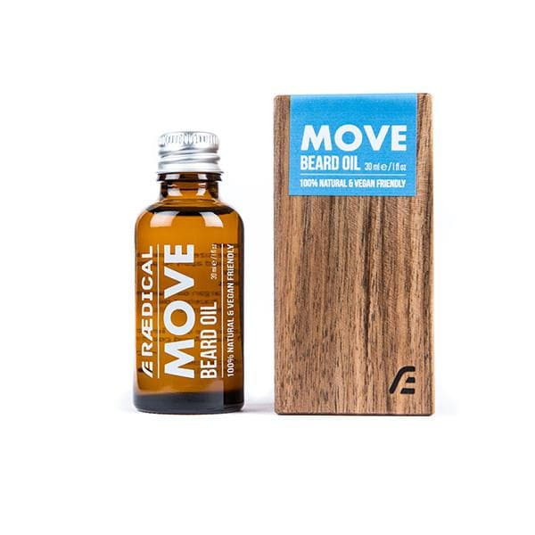 Move Beard Oil - Rӕdical Raedical
