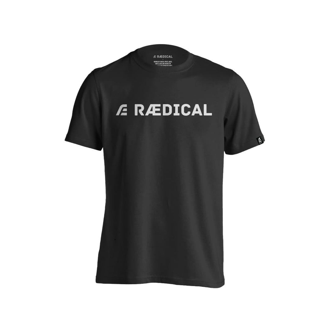 Rӕdical Casual Logo Ash Black - Rӕdical Raedical