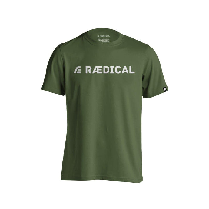 Rӕdical Casual Logo Forest Green - Rӕdical Raedical