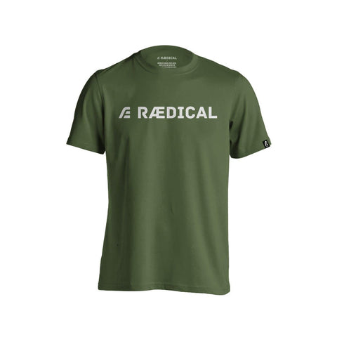 Rӕdical Casual Logo Forest Green