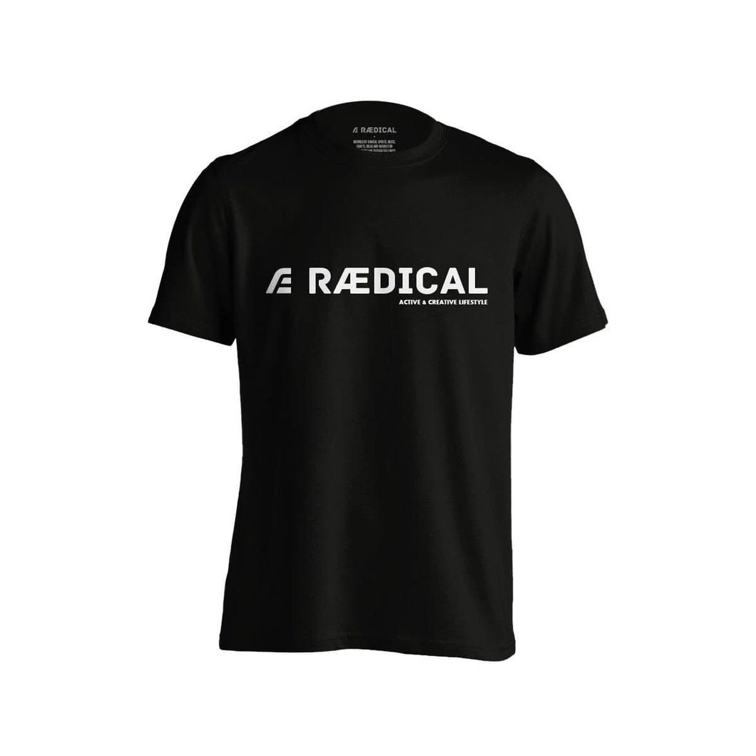 Raedical Team Casual Logo Black - Rӕdical Raedical
