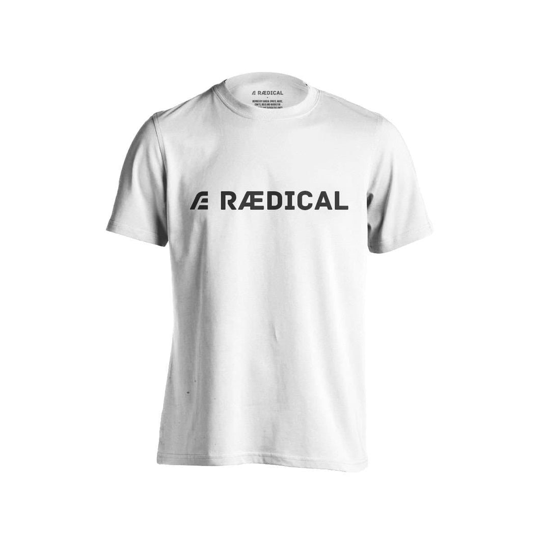 Raedical Casual Logo White - Rӕdical Raedical