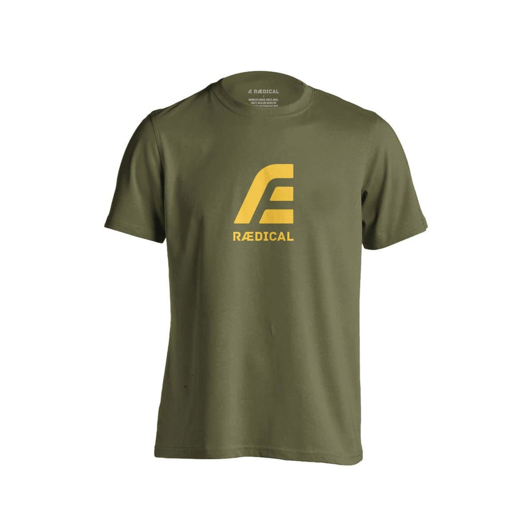 Raedical Sport Logo Army Green - Rӕdical Raedical