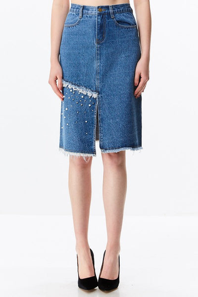 MIRIAM DENIM SKIRT