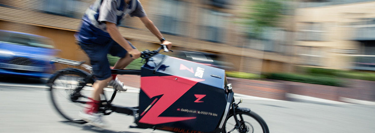 electric cargo delivery bike auckland