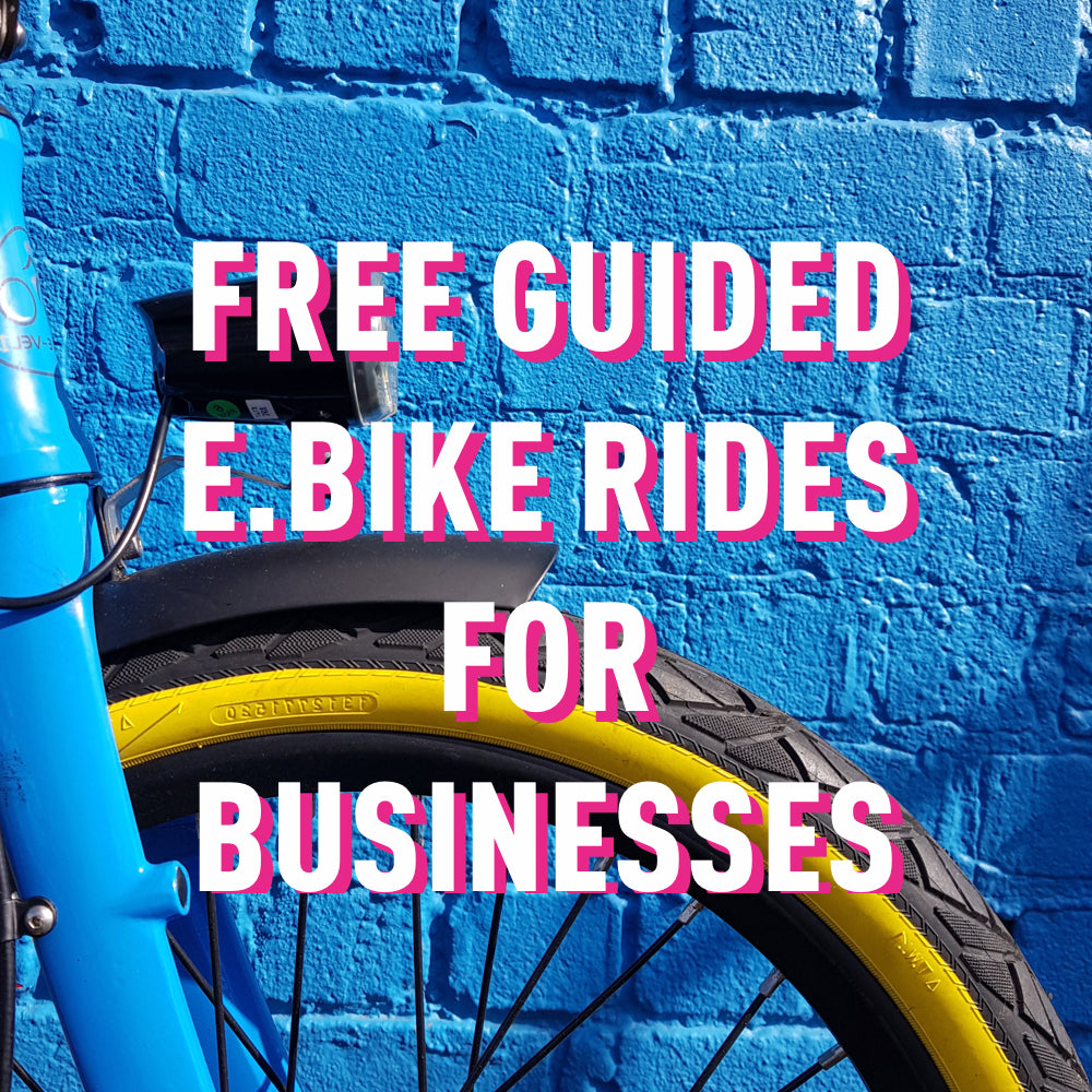 Free Guided eBike Rides for Business