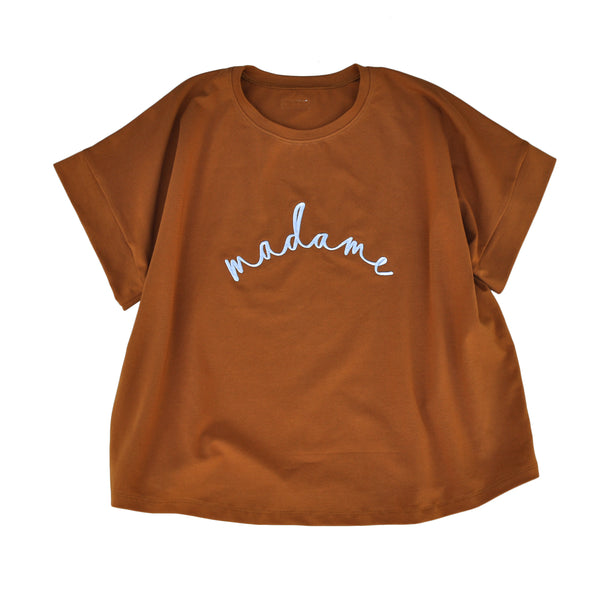 Madame Embroidered Tee (+ colours)