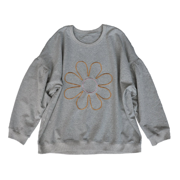 Madame Daisy Embroidered Sweater ~ Large