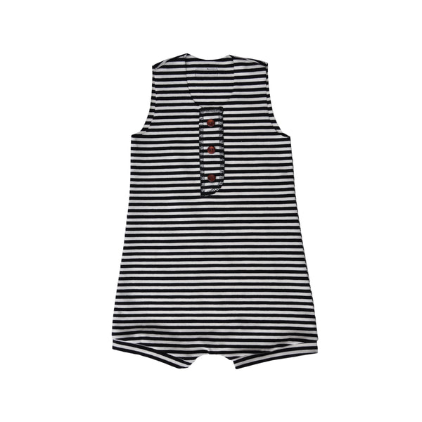Luna Stripe Shorty Romper