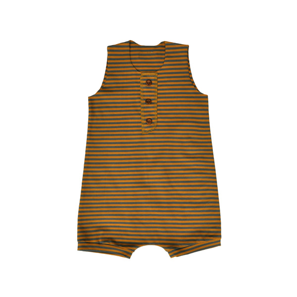 Terra Stripe Shorty Romper