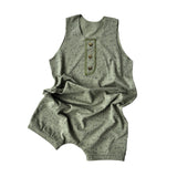 Splatter Shorty Romper 4yrs