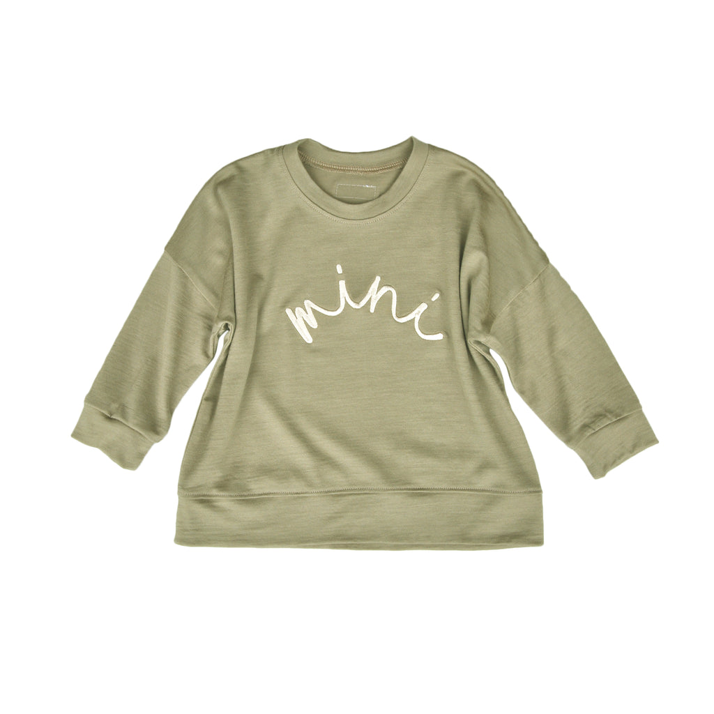 Merino Mini Embroidered Sweater