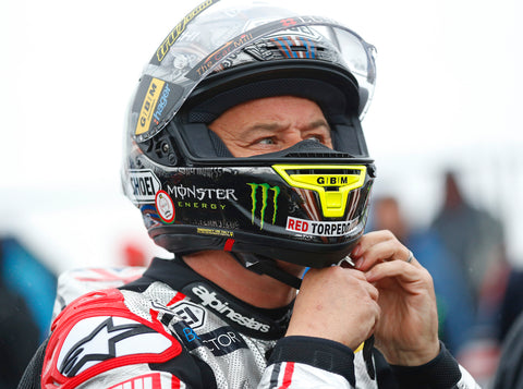John McGuinness on startline