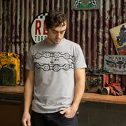 Chainslack Titanium Grey T-Shirt Mens